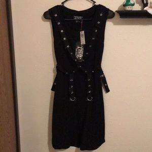 Hot topic grommet bondage dress